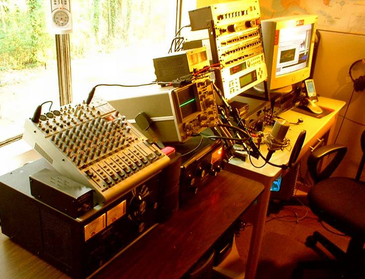 The N2QN Voodoo Audio Shack!