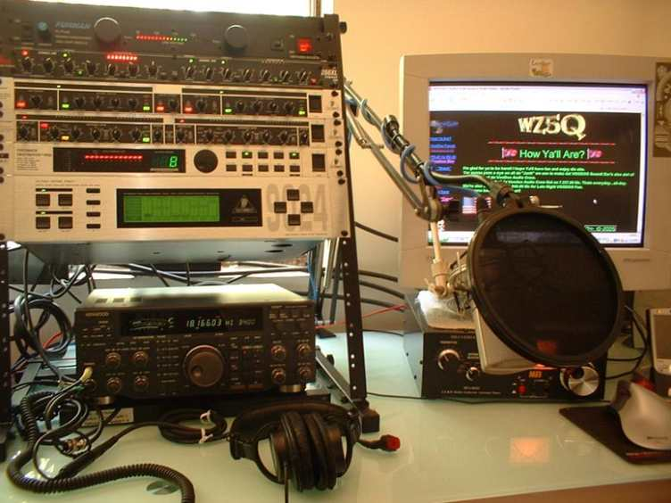 The Voodoo Audio Rack of N2QN!